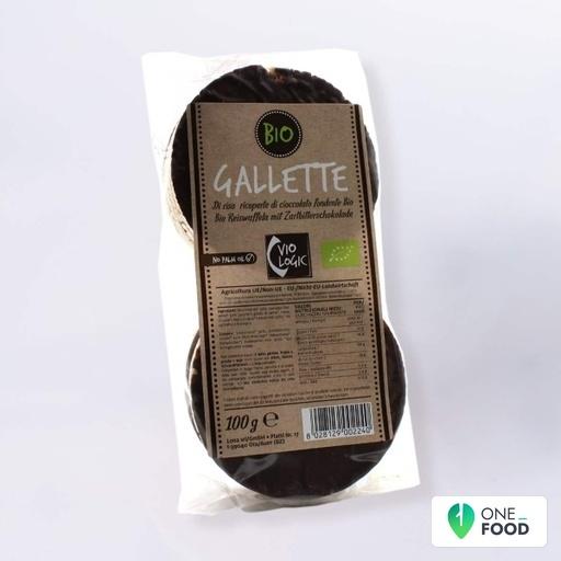 Bio Reiswaffeln Mit Zartbitterschokolade 1 X 100 G